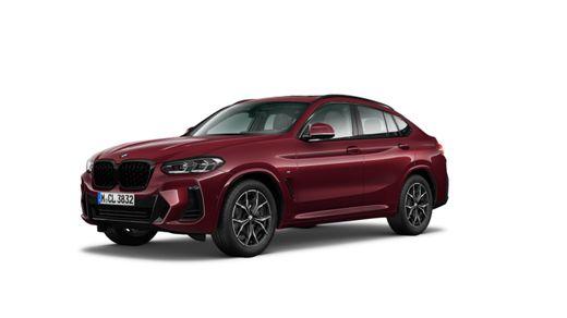 BMW---X4-xDrive30i---Edicion-M---Rojo-Piemont---Sensatec-Negro---2022